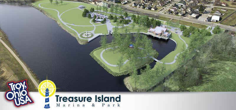 Treasure Island Board Aerial Web