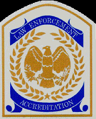 Seal of the Commission on Accreditation for Law Enforcement Agencies, Inc.
