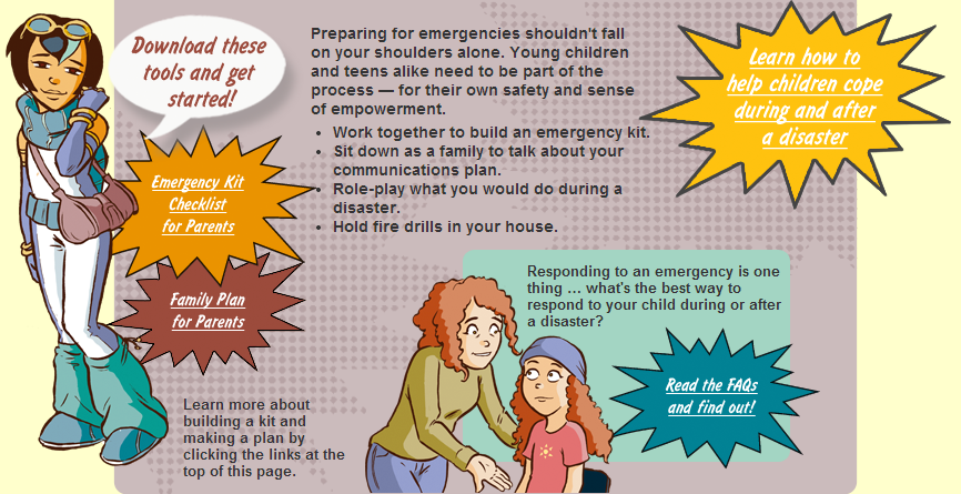 Preparedness for Parents