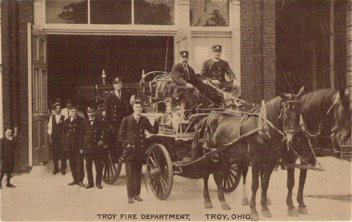 Troy Fire Depart c 1910